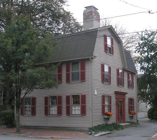 The William T. Pickering House. 1736 Salem, Massachusetts