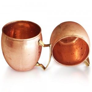 Non-Breakable Buxxu Copper Mugs Making Great Sale Against Fragile Tableware Buxxu Copper Mugs- Only On Amazon.com $39.99 http://amzn.to/1TU7r6R