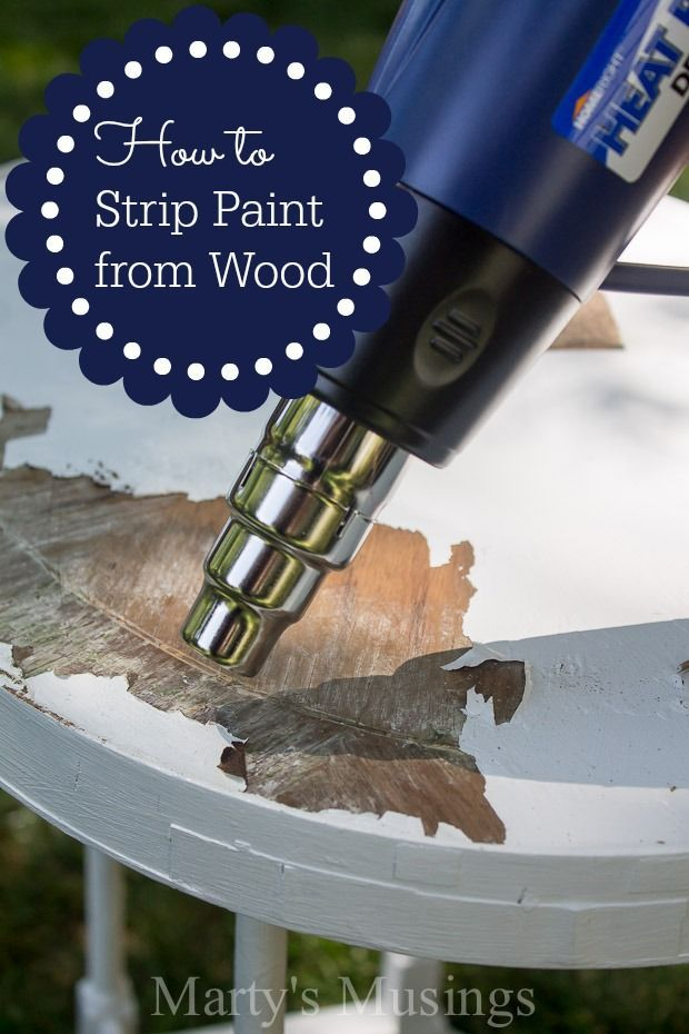 This DIY tutorial gives tips on how to strip paint from wood using Homeright's Heat Pro Deluxe II Hot Air Tool. Even an amateur can do this with these easy steps!