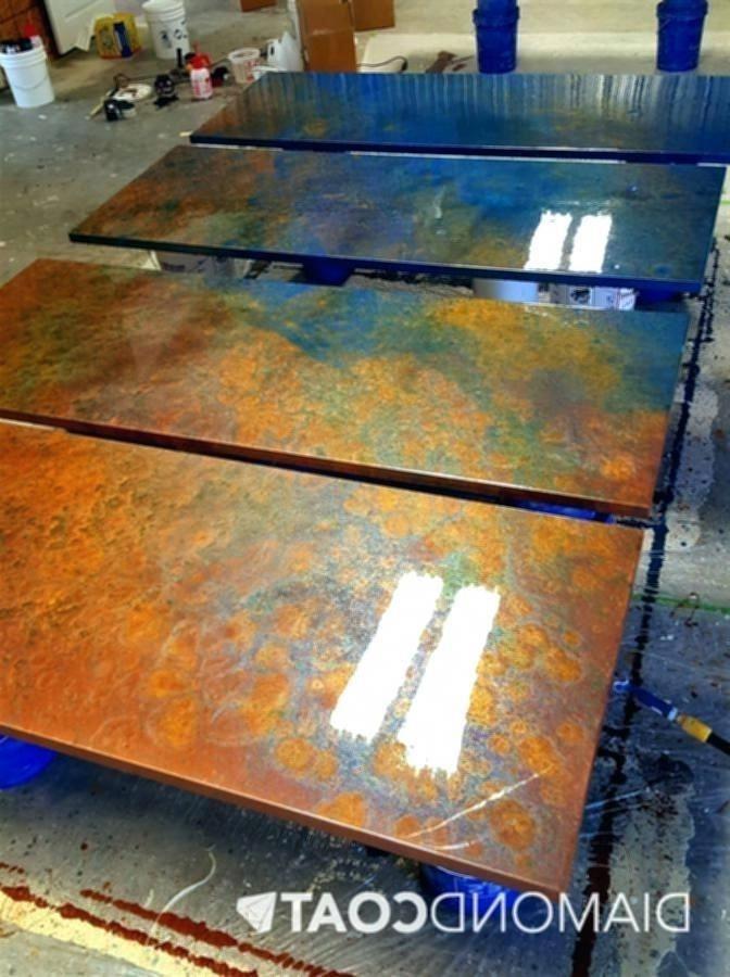 Diy Resin Epoxy Countertop Countertops Bathroomdiydecor Epoxy Countertop Diy Resin Countertops Resin Diy