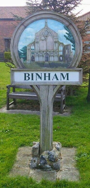 Binham Village Sign