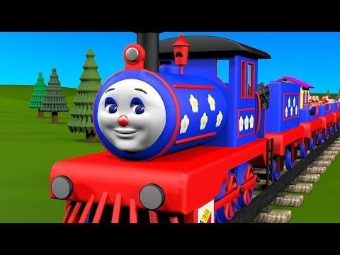 Learn to Count from 1 to 10 with Choo-Choo Train! Educational cartoons for children toddlers babies - YouTube