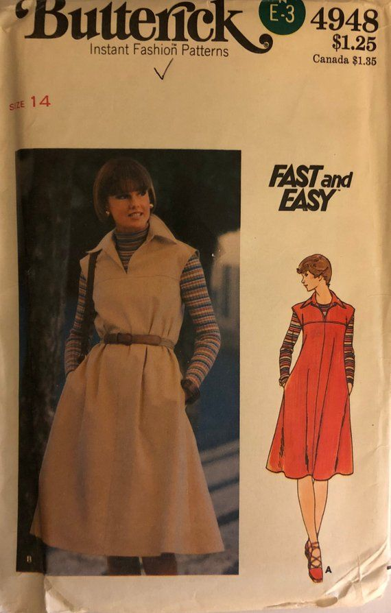 UNCUT Butterick 5061 Sewing Pattern Vintage