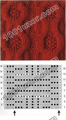 1001 vzorek.  Vzory paprsky.  Vzory opletení a svazky vzor 18