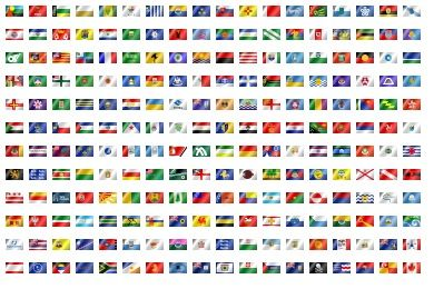World Flags Icons - Artwork by Osiris_TSGK