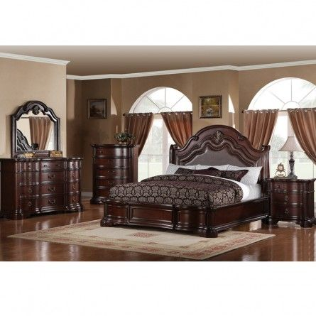 King Bedroom Sets dickson carson king bedroom set - bed bedroom furniture sets