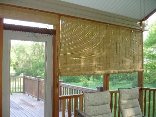 Just Found The Perfect Window Treatments!!   Blinds.com. U2013 Exterior Porch