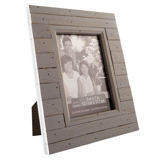 <div><div>Display a cherished photo in this rustic-looking frame. Crafted out of salvaged pine, ...