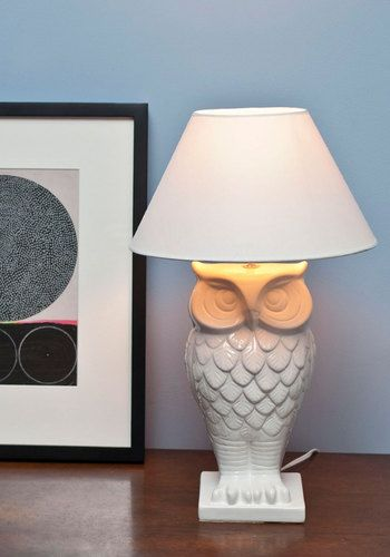 Owl Lit Up Lamp, #ModCloth                                                                                                                                                                                 More