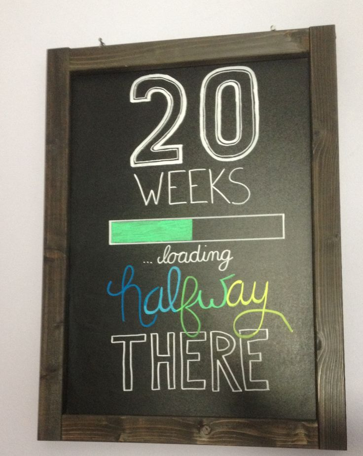 01/06/14 woohoo half way there ❤️ 4 days to go until we find out the gender :)