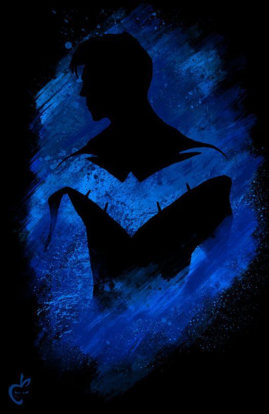 Sweet Nightwing artwork! Xx