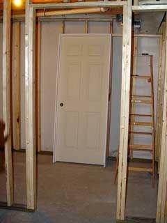Top 25 Ideas About Framing A Basement On Pinterest Basement Finishing Concrete Basement Walls