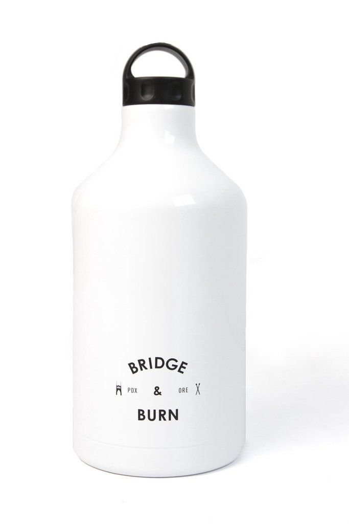 Bridge & Burn x Shine Vessel Growler White
