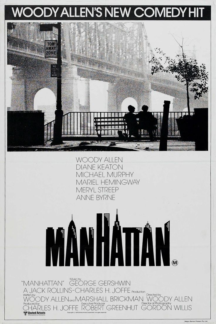 Woody and NYC. Great film, great poster