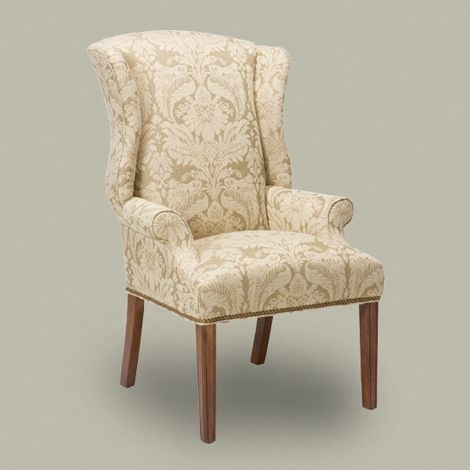 Gallery For Website Jayden Host Chair Ethan Allen Maybe with a slipcover