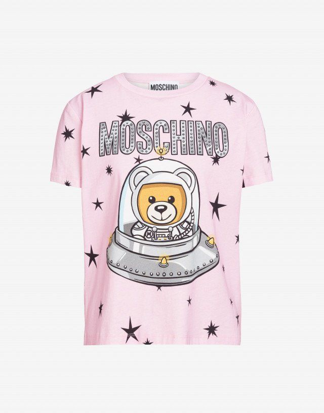 e418a656 T-Shirts - Clothing - Women - Moschino | Things to Wear in 2019 ...