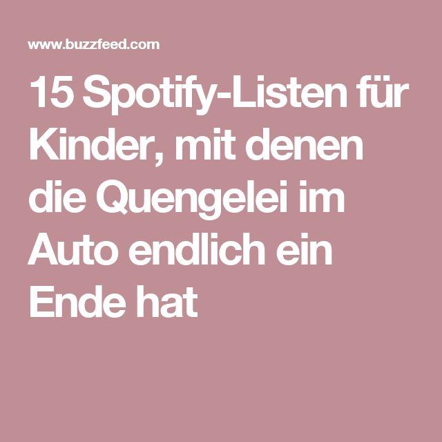 15 Spotify-Listen für Kinder, mit denen die Quengelei im Auto endlich ein Ende hat