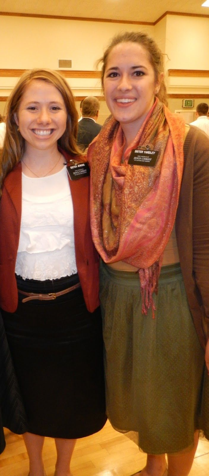 Sister missionary style #lds #forthemission #i hope they call me.....