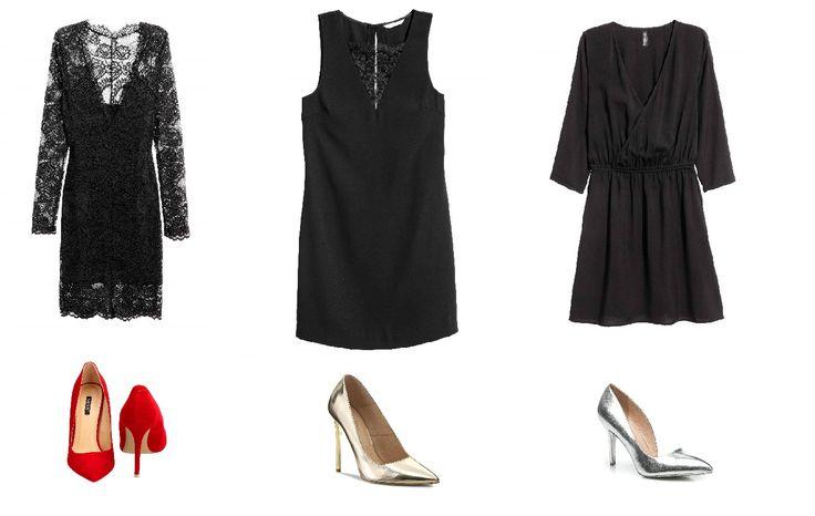 Little black dress for New Years Eve.  Mała czarna na Sylwestra i nie tylko! Zobacz moje propozycje we wpisie :)