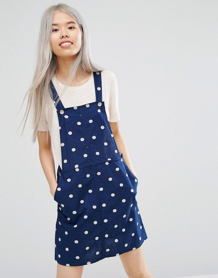 Monki Dungaree Dress - inspiration for sewing Cleo