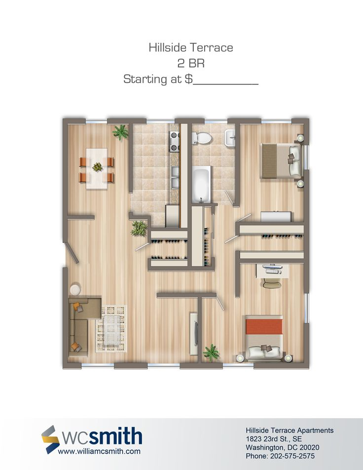 17 best images about granny flat on pinterest bedroom floor plans small house design and layout - Terras appartement lay outs ...