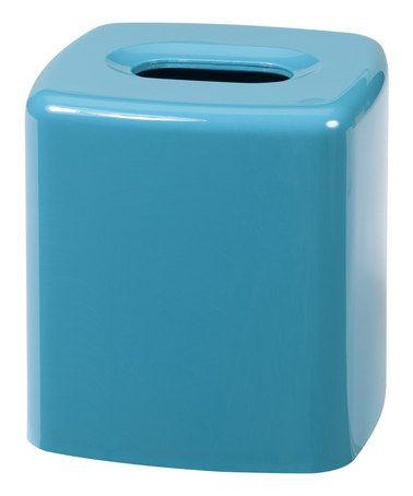 Look at this #zulilyfind! Turquoise Gem Tissue Holder #zulilyfinds