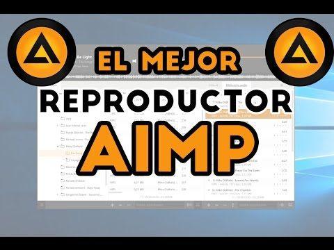 Reproductor de música recomendado AIMP | El mejor Reproductor de Música