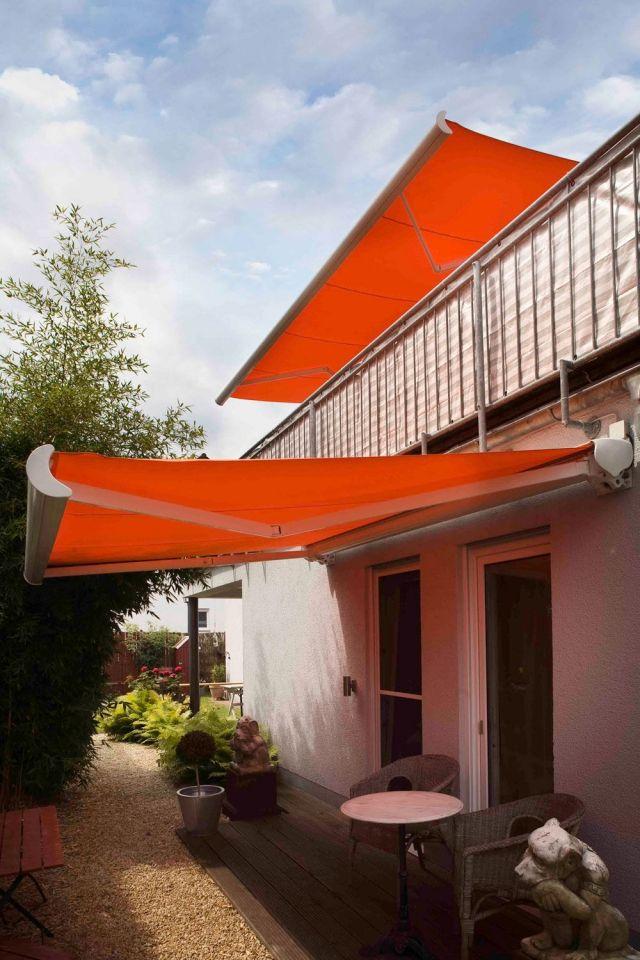 Balkon » Balkon-Markisen sorgen für einen passenden Sicht- und - markisen fur balkon design ideen