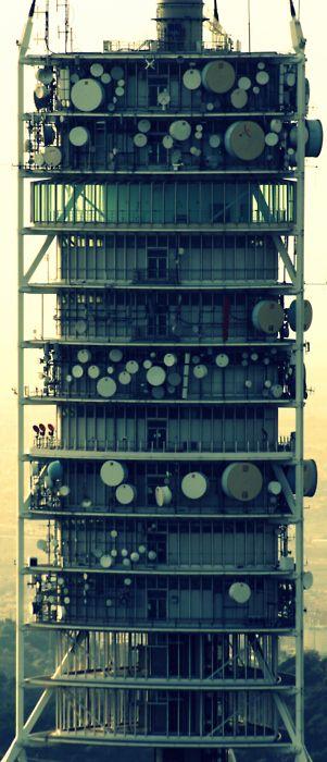 torre de collserola - barcelona - norman foster -photo javier ortega figueiral