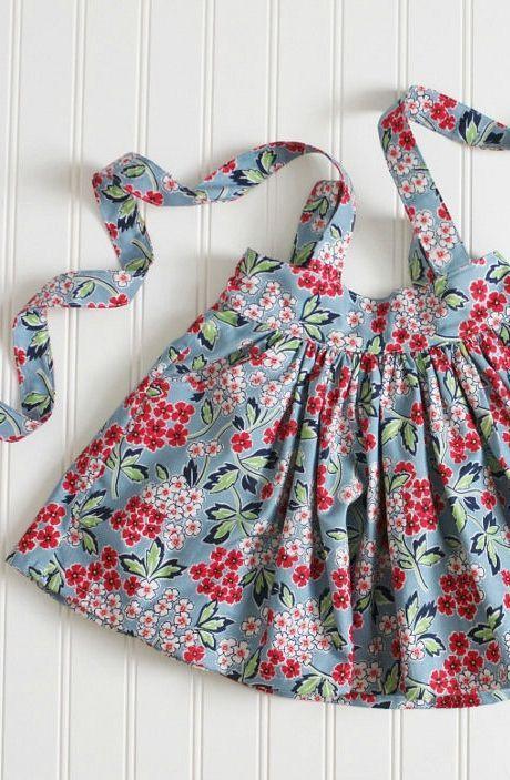 Pretty Handmade Suspender Skirt With Pockets   CarlieJaye on Etsy