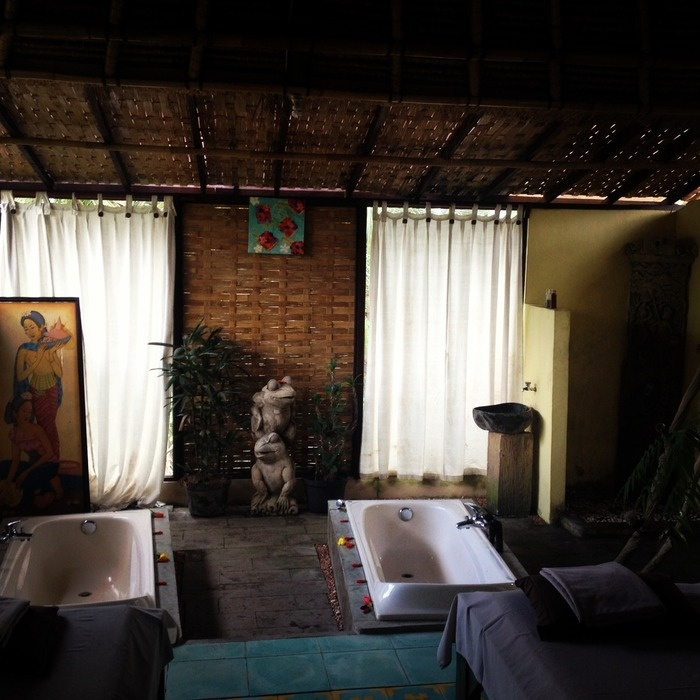 The Balinese Meurat treatment lasts 115 minutes consisting of a massage, scrub and flower bath. Photo by Electra Gilies
