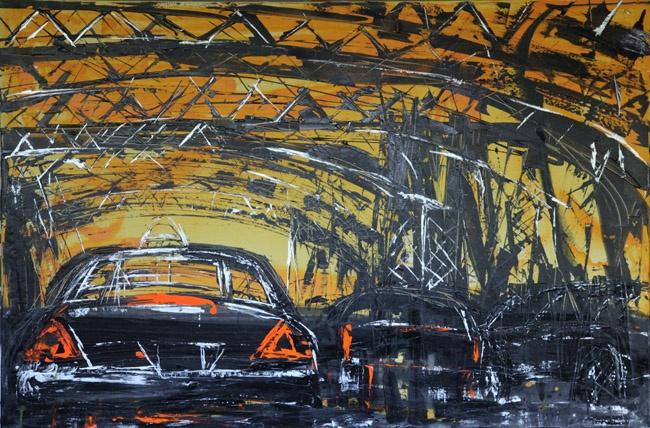 """Mina Papatheodorou Valyraki: """"Bridge In Yellow"""", 2011"""