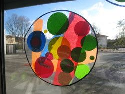 Cercles dans le cercle de Kandinsky