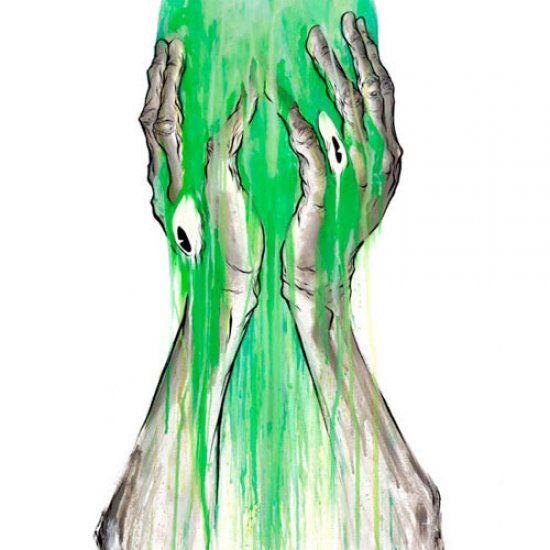 Un travail audacieux, totalement différent, créative...et qui reflète clairement la personnalité d'un artiste talentueux...ALEX PARDEE! http://space-art.fr/amazing-artwork-alex-pardee/