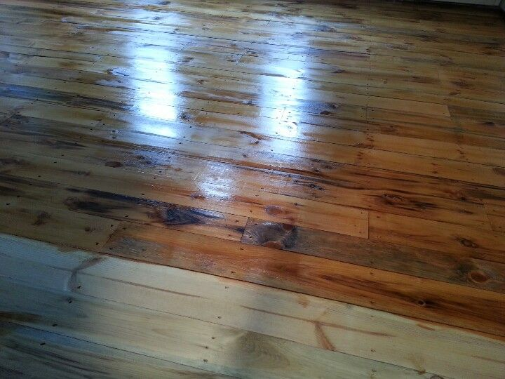 Nh Grown Pine Floors Stained With Minwax Golden Pecan