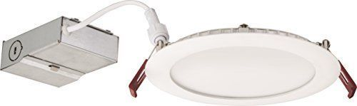 """WF6 LED 30K MW M6 13W Ultra Thin 6"""" Dimmable LED Recessed Ceiling Light 3000K #LithoniaLighting"""