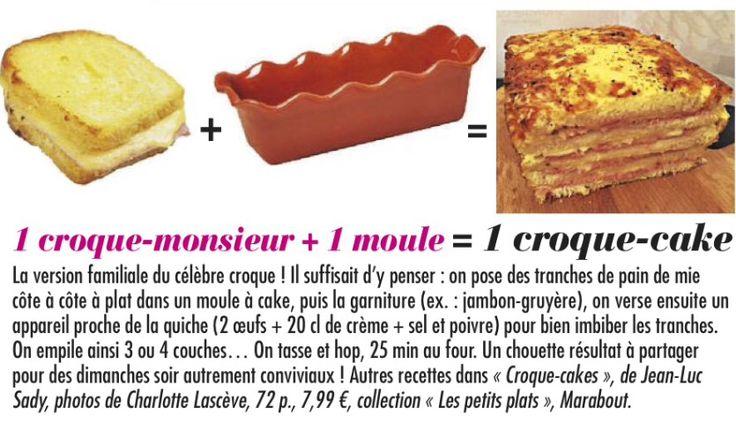 Double croque monsieur /