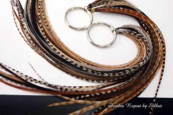 Accessori per capelli di Boho piuma di featherswholesale su Etsy