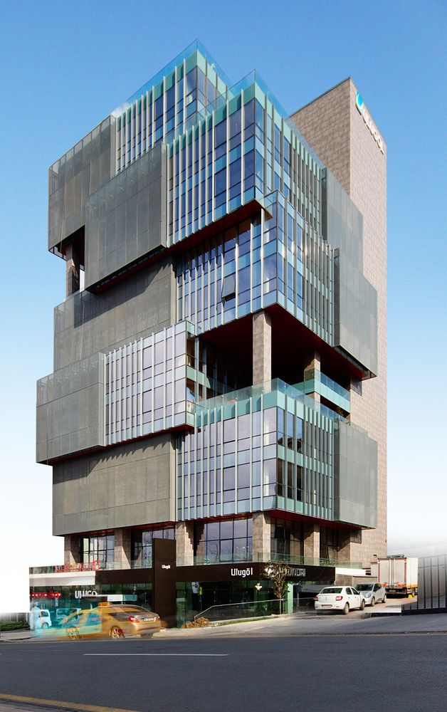 Architecture of The Ulugöl Otomotiv Office Building / Tago Architects -Istanbul, İstanbul, Turkey.
