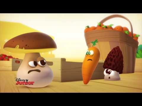 A table les enfants ! - Le Champignon - Episode en entier - Exclusivité Disney Junior ! - YouTube