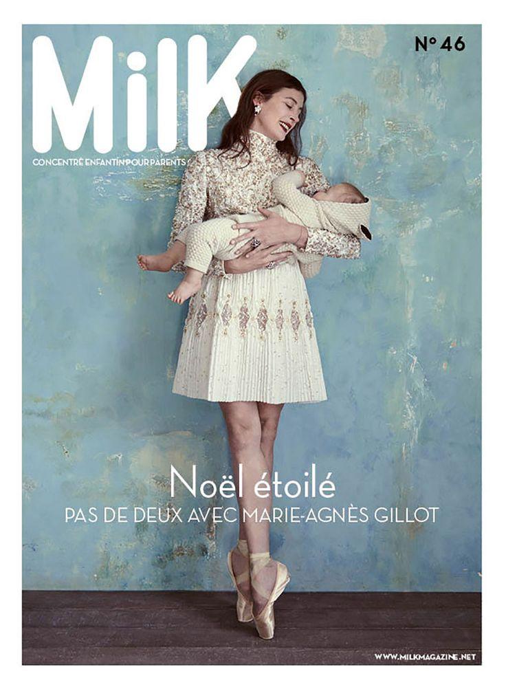 MilK Magazine n°46 La petite robe bleue de Royal Pea