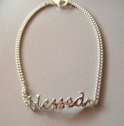 Blessed Bracelet. This is a beautiful everyday bracelet is for anyone of any age.
