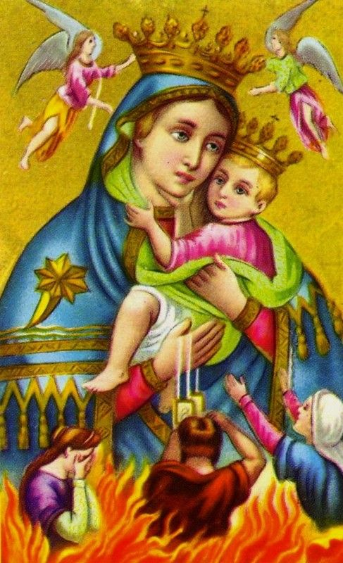 AVE Maria surrounded by Angels <3