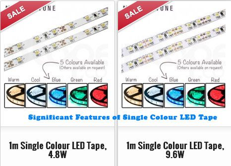 If you are looking for an innovative approach in imparting ambience to your home or office, then the perfect option to consider is the single colour LED Tape lighting.