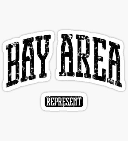 Bay area stickers