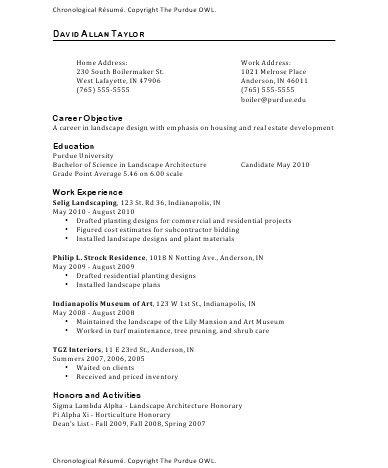 Owl 3-Resume Format Job resume template, Job resume samples, Job