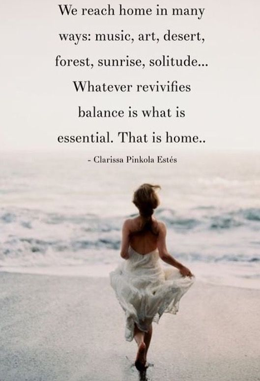 """We all need to find our """"inner home."""""""