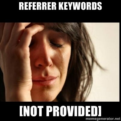 SEO First World Problems #SEOJokes