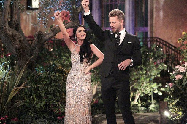 Arkansas' Raven Gates teaches Nick Viall to call the Hogs on his season of ABC's The Bachelor. Gates finished as runner-up and will look for love on Bachelor in Paradise
