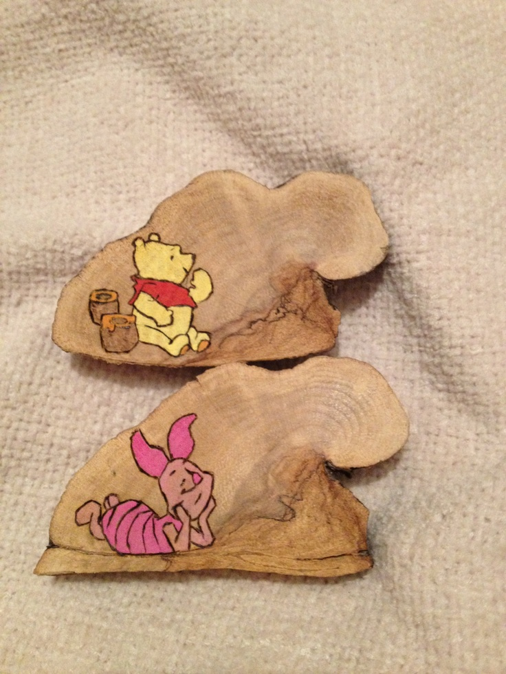 Personalised Unique HandmadeWoodburned Winnie by FireWoodCrafts, €10.00